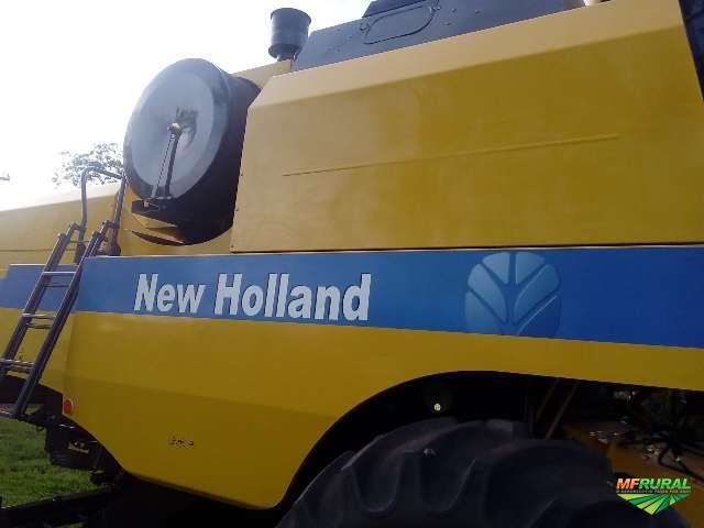 colheitadeira new holland modelo 5070 com apenas 750 horas único dono quitada