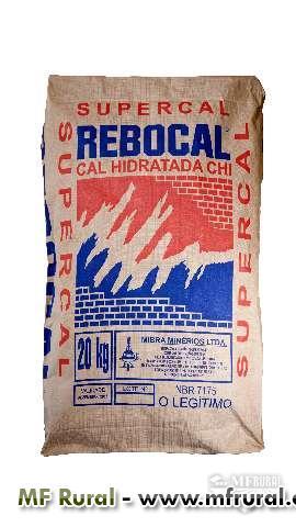 CAL HIDRATADA CHI - CAL VIRGEM - CALCÁRIO DOLOMÍTICO E CALCÍTICO