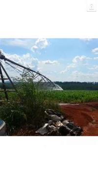 pivô de irrigação