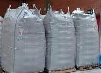 Big bag travado higienizado especial para grãos