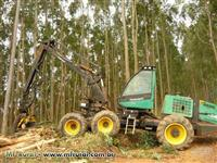 Trator Timberjack 1270D  Harvester- John Deere ano 2003