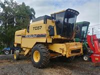 New Holland NH TC57 1997 com plataforma 15 pés