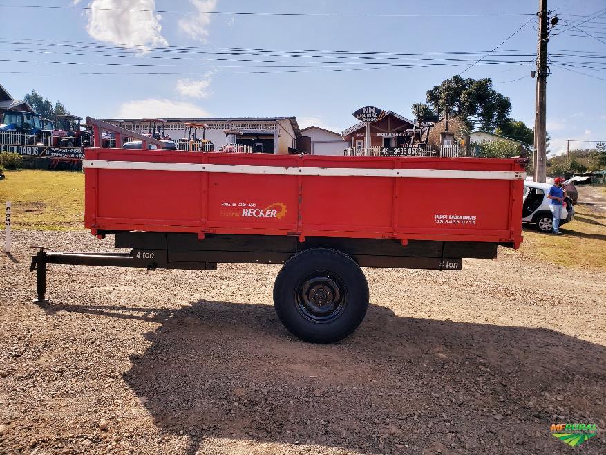 Carreta Agrícola Becker 4 ton