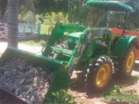 Trator John Deere 5055 4x4 ano 16