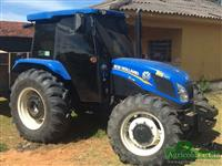 Trator New Holland TL 75 E 4x4 ano 15