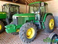 Trator John Deere 6600 4x4 ano 01