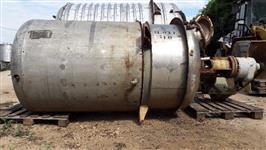Reator aço inox 2m3