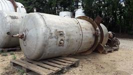Reator aço inox 2 mil litros