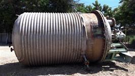 Reator em aço inox 316L