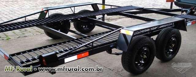 Reboque para transporte de veículos