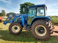 Trator New Holland TS 6040 4x4 ano 12