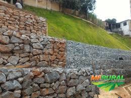 Gabião para Contenção de Barrancos, Taludes, Beira de Rio, Areas Erosivas em Geral.