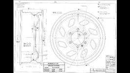 Rodas de Marruá R16 x 6  #3672