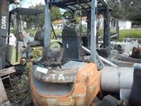 Empilhadeira + Compressor de Ar de 02 Cabeçotes  #3566
