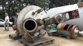 Reator em Aço Inox com Capacidade de 2.000 l - #1514