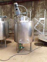 Misturador em Aço Inox 304 Capacidade 750 l com Aquecimento - #1505