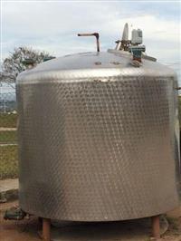 Tanque Misturador em Aço Inox Aisi Sanitário 7.000 l - #1499