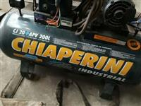Compressor de Ar Alta Pressão Chiaperini CJ 20 APV 200 l - #1698