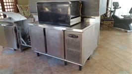 Freezer Horizontal 2 portas Inox - #2090