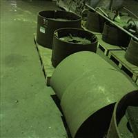 09 Polias cônicas bi-partidas em aço carbono - #2647
