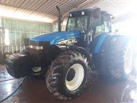 Trator New Holland TM 165 4x4 ano 05