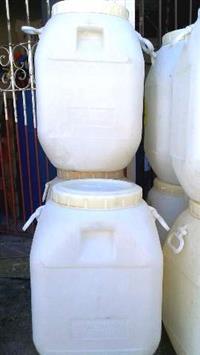 Bombonas Brancas Tampa Rosqueável