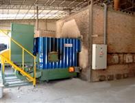 Fornalha automatizada para secador de grãos