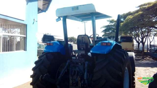 Trator New Holland TM 140 4x2 ano 01