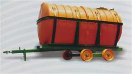 carreta tanque 6500 litros  com kit calda pronta