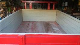 Carreta Original agrícola 2 ton basculante e freio.