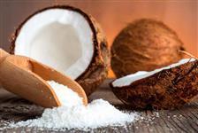 Coco ralado in natura congelado