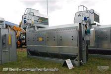 Maquina de pre-limpeza de grãos