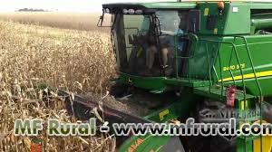 Colheitadeira - Terceirização da colheita de soja e milho em todo Brasil