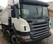 Caminhão Scania P 420 ano 10