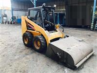 MINI CARREGADEIRA CATERPILLAR, 216B, ANO 2006 - ESTILO BOBCAT