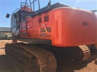 Hitachi Zaxis ZX470LC-5 Ano: 2016 Escavadeira de 47 ton