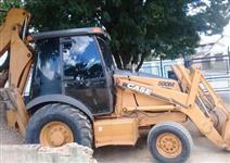 RETROESCAVADEIRA CASE 580M 4X2 ANO 2011, CABINE FECHADA COM AR