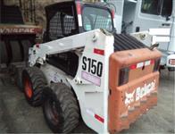 MINI CARREGADEIRA BOBCAT S150 ANO 2008, COM 4600 HORAS TRABALHADAS, ÚNICO DONO, TRABALHANDO
