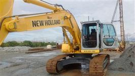 ESCAVADEIRA NEW HOLLAND E 215 B ANO 2014