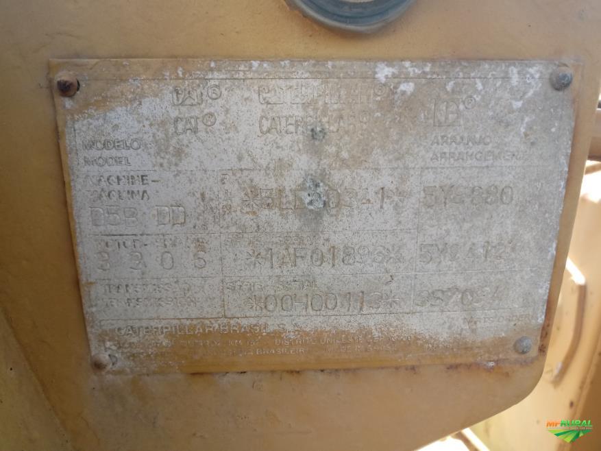 TRATOR CATERPILLA  MODELO D5B ANO 1990 EMBREAGEM