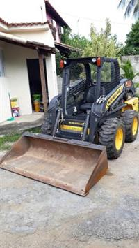 MINI PA CARREGADEIRA NEW HOLLAND L 218 2012/2013