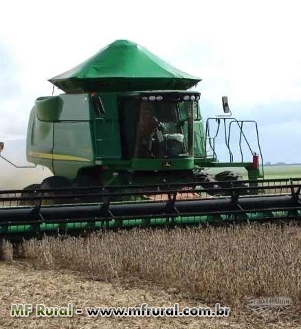 Comércio de tratores, colheitadeiras, implementos agricolas