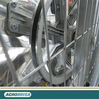 Ventilador para Sala de Ordenha - AGROBRISA AGRO i138