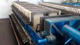 Filtro Prensa Hidráulico c/ 40 Placas de 760 x 760 mm