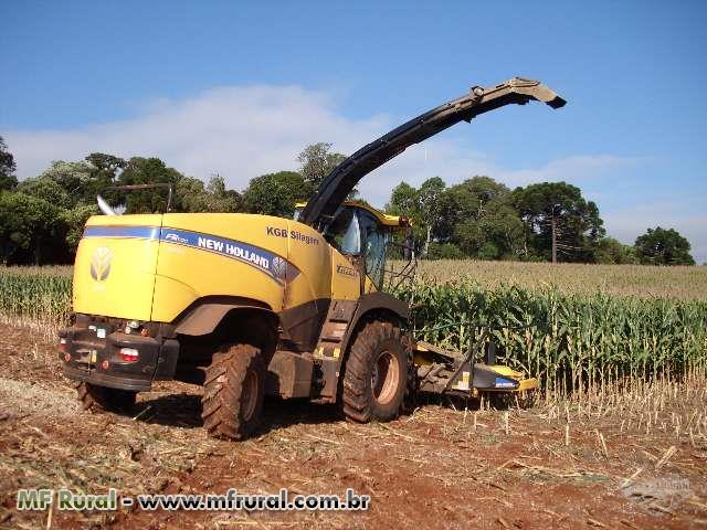 Silagem Forrageira New Holland FR 500