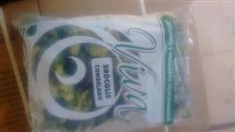 Brócolis congelado e inatura