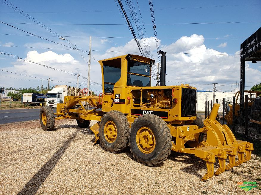 Motoniveladora Caterpillar 140B 1986