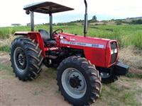 Trator Massey Ferguson 265 4x4 ano 04