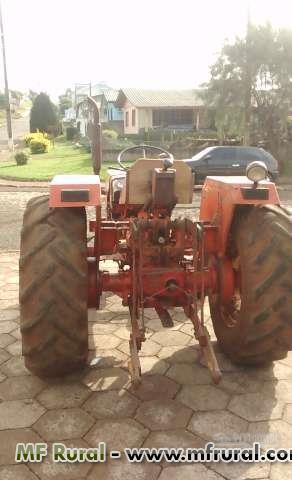 Trator Agrale 4200 4x4 ano 82