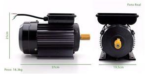 Motor Elétrico 2p 3cv 220v 3500rpm Monofásico Alta Rotação